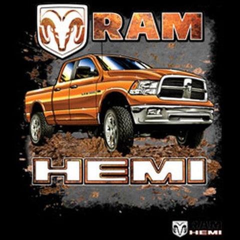 Dodge Ram Hemi Truck Mens Short or Long Sleeve T Shirt 20423HD1