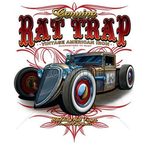Genuine Rat Trap Car Mens Short or Long  Sleeve T Shirt 17682