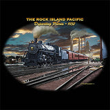 The Rock Island Pacific Train Mens Short or Long Sleeve T Shirt 221345D3