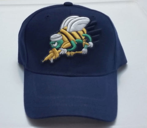 Vintage Seabees Low Profile Blue Ball Cap Never Worn