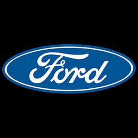 Ford Small  Logo Crest on Upper Left Front of Adult Unisex SHORT SLEEVE T Shirt 18147E9