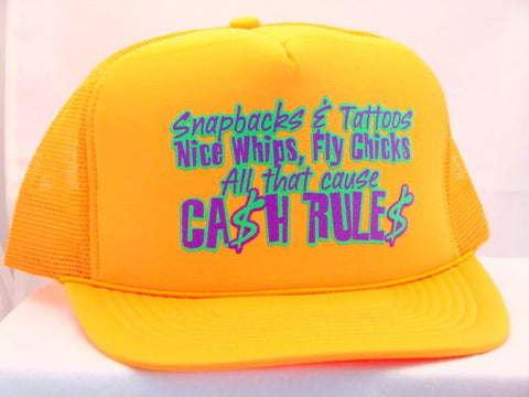 Snapbacks and Tattoos Trucker Cap 16799
