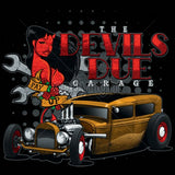 The Devils Due Garage Hot Rod Mens Short or Long Sleeve Car T Shirt 17446