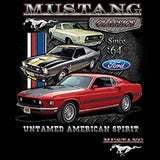 Ford Mustang Untamed American Spirit Mens Short or Long Sleeve Car T Shirt 21286D1