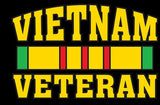 ON SALE Vietnam Veteran Adult Unisex T Shirt 3932