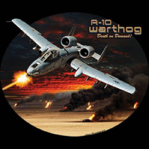 A 10 Warthog Airplane Death on Demand Mens Short or Long T Shirt 21642HD4