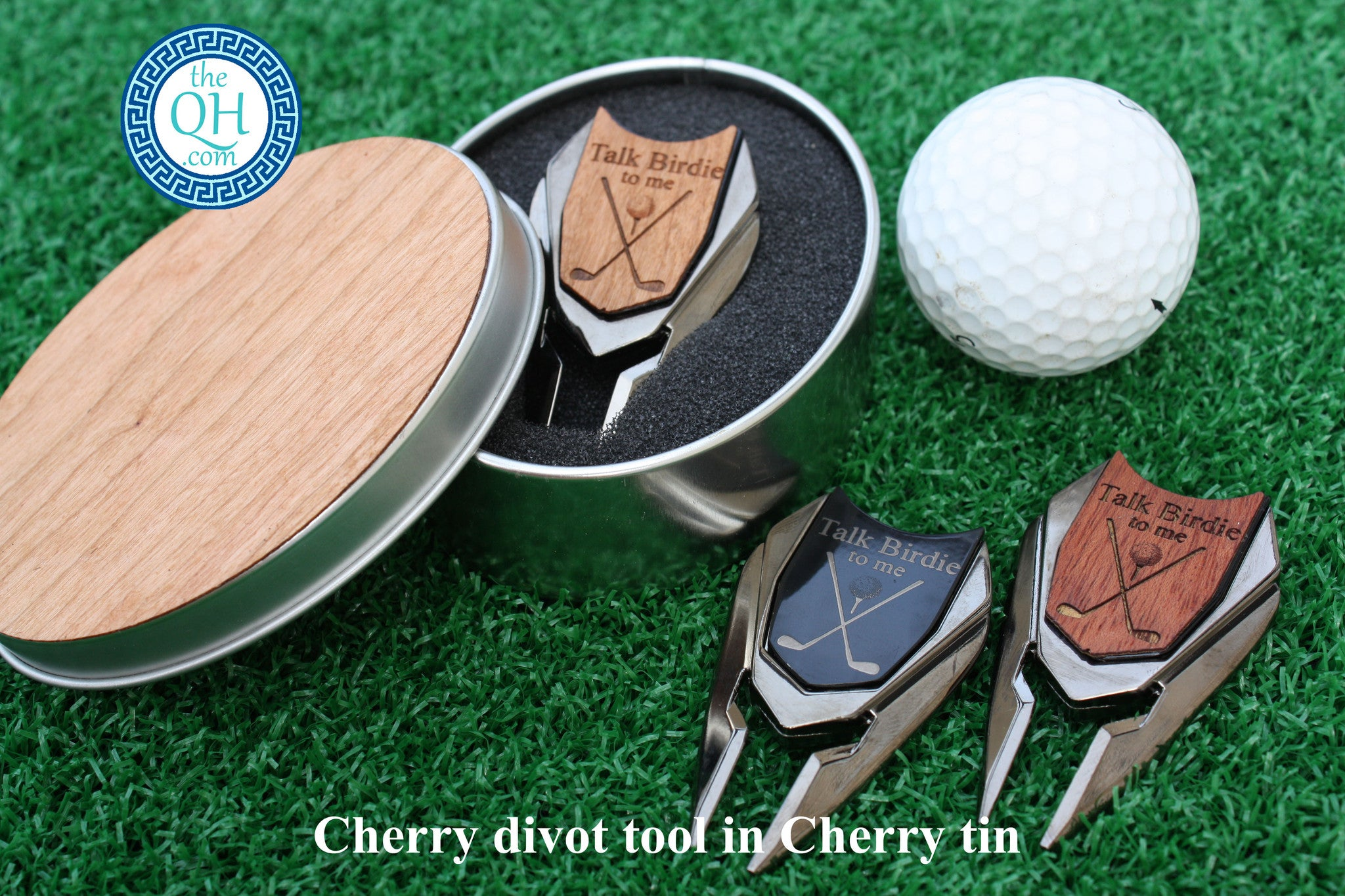 Talk Birdie To Me Golf Ball Marker And Divot Tool With Tin The Quintessential Hostess