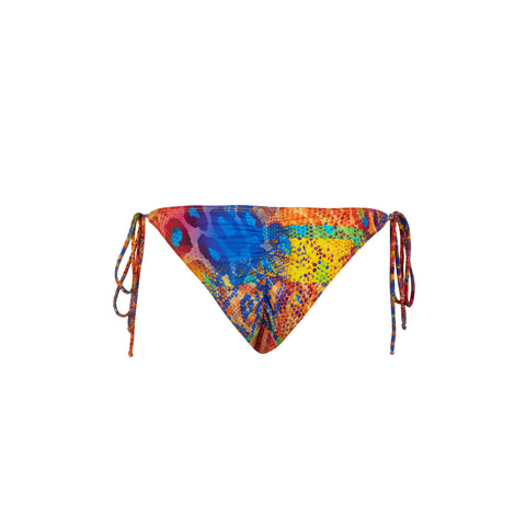 Chill Bikini Bottom in Tropical Skin by Tuhkana Swimwear
