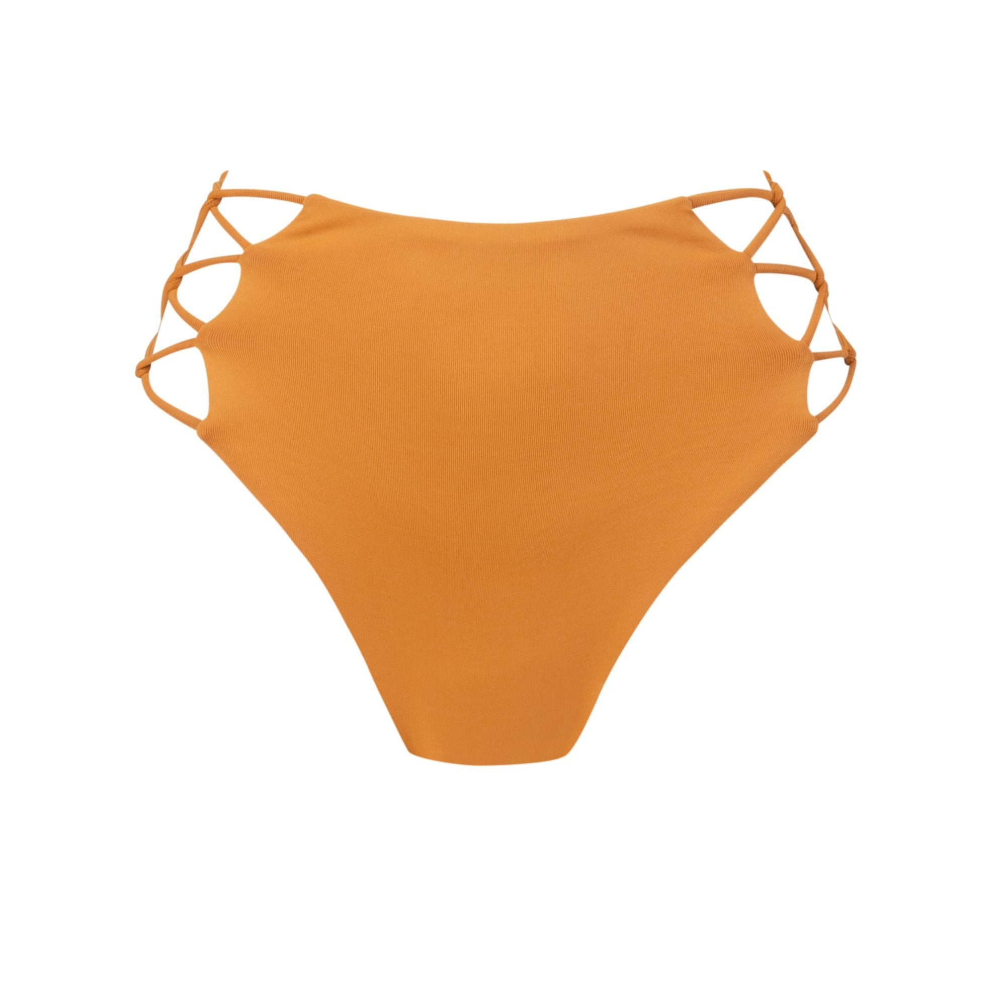 Grove Bikini Bottom in Pumpkin - Tuhkana