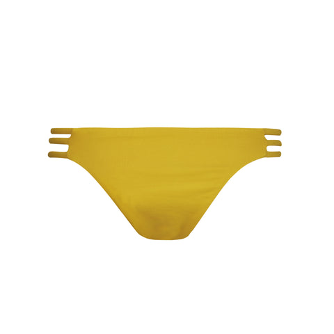 Thrill Bikini Bottom in Honey by Tuhkana Swimwear