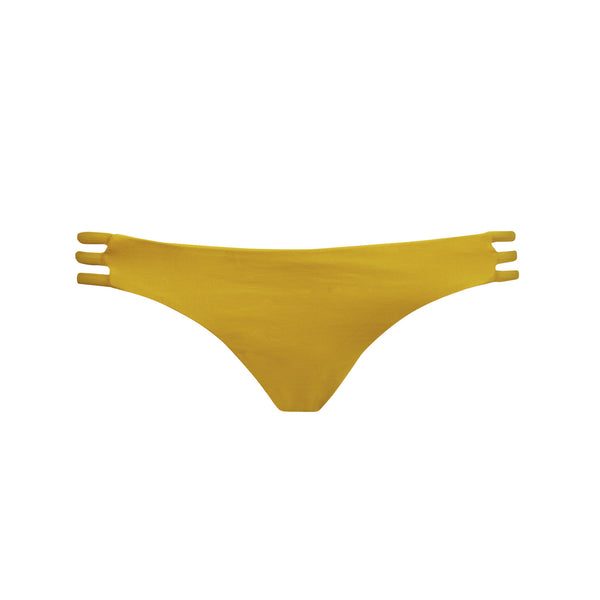 Thrill Bikini Bottom in Honey - Tuhkana