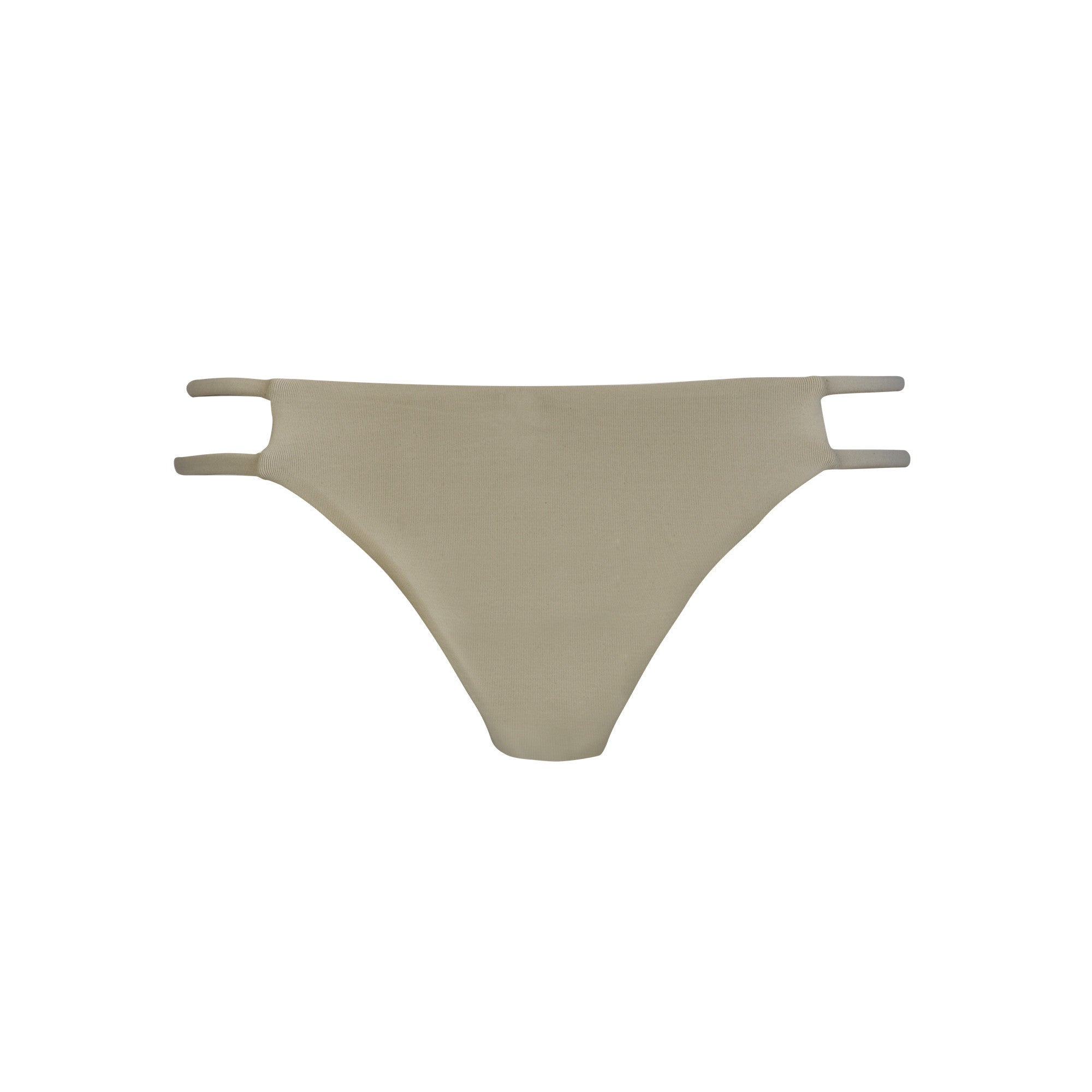 Tingle Bikini Bottom in Sand by Tuhkana Swimwear