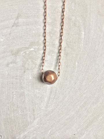 Simple Ball Necklace