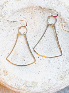 Sterling Bell Earrings
