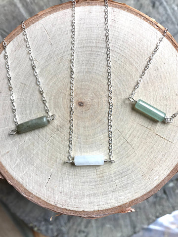 Dainty Tube Necklace