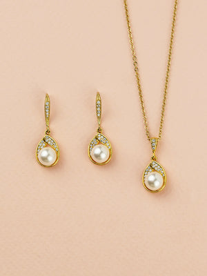 Load image into Gallery viewer, Astra Gold Jewelry Set | Short
