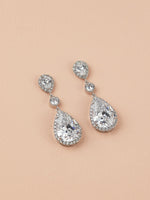 Vesta Classic Clip On Earrings | Long