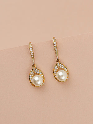 Load image into Gallery viewer, Astra Gold Earrings | Short