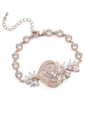 Load image into Gallery viewer, Melinda Rose Gold Bracelet I
