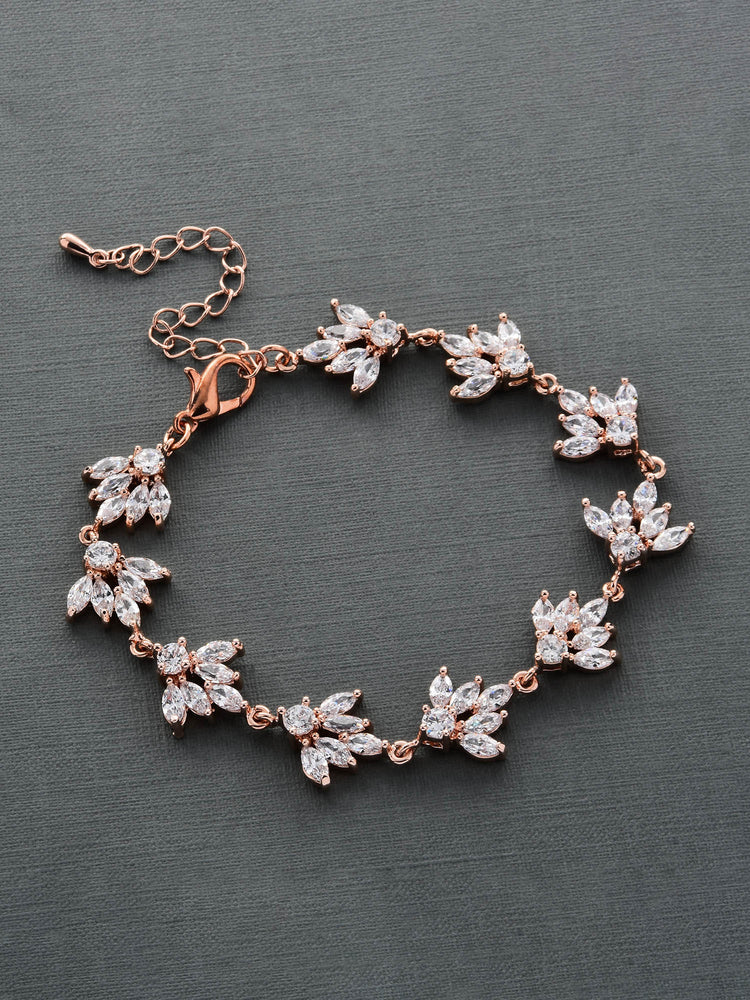 Load image into Gallery viewer, Eliana Rose Gold Bracelet
