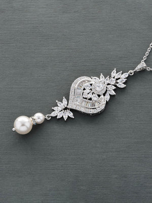 Load image into Gallery viewer, Melinda Pearl Pendant