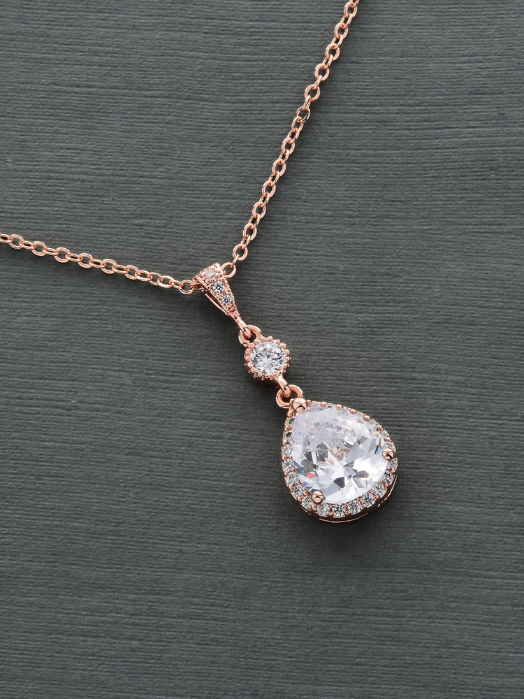 Vela Rose Gold Pendant