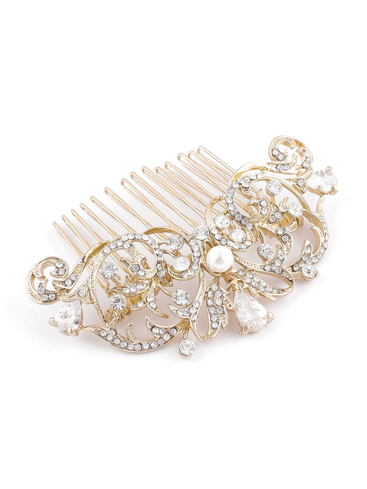 Grace Gold Hair Comb
