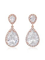 Vesta Classic Rose Gold Clip On Earrings | Short
