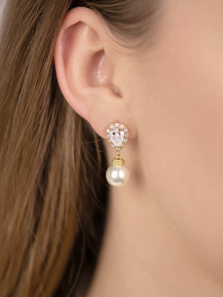 Load image into Gallery viewer, Electra Gold Earrings