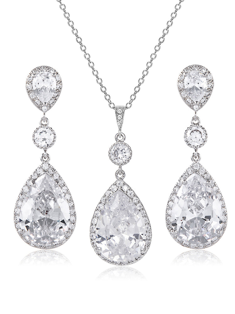 Load image into Gallery viewer, Vesta Classic Jewelry Set | Long