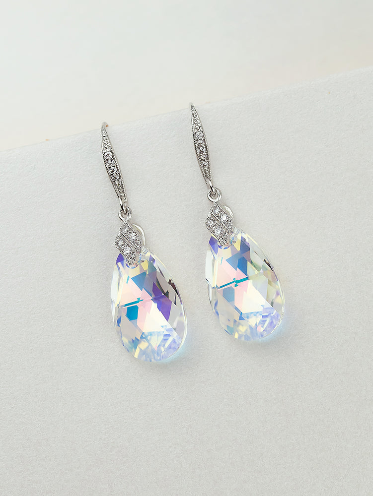 Naomi Earrings | Crystal AB