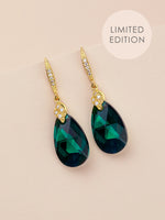 Naomi Earrings | Emerald AB