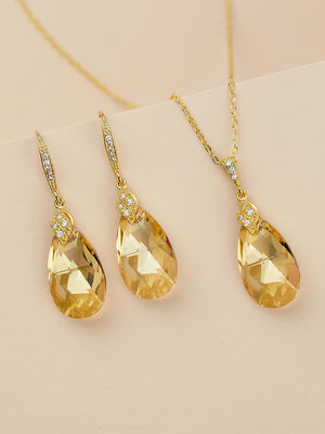 Naomi Jewelry Set | Golden Shadow