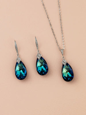 Load image into Gallery viewer, Naomi Jewelry Set | Bermuda Blue