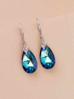 Naomi Earrings | Bermuda Blue