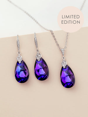 Naomi Jewelry Set | Heliotrope
