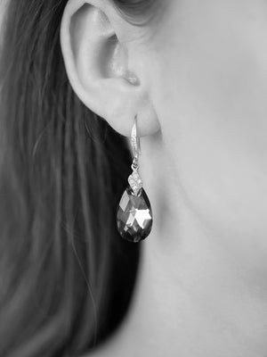Load image into Gallery viewer, Naomi Earrings | Aquamarine AB