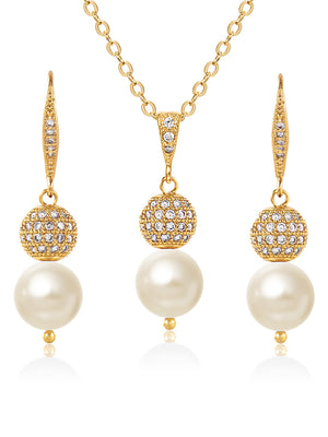 Selene Gold Jewelry Set