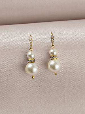 Load image into Gallery viewer, Laelia Gold Earrings