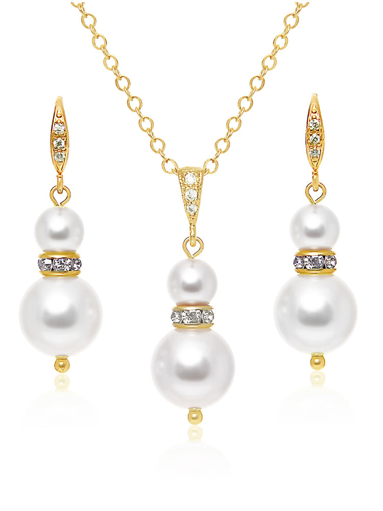 Load image into Gallery viewer, Laelia Gold Jewelry Set