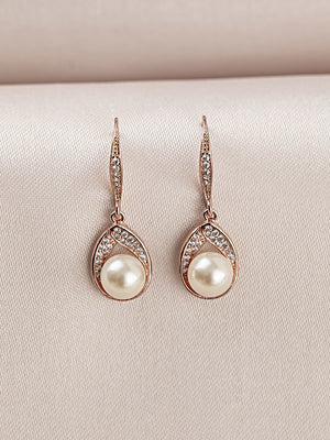Astra Rose Gold Earrings