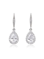 Delicate Cubic Zirconia Earrings