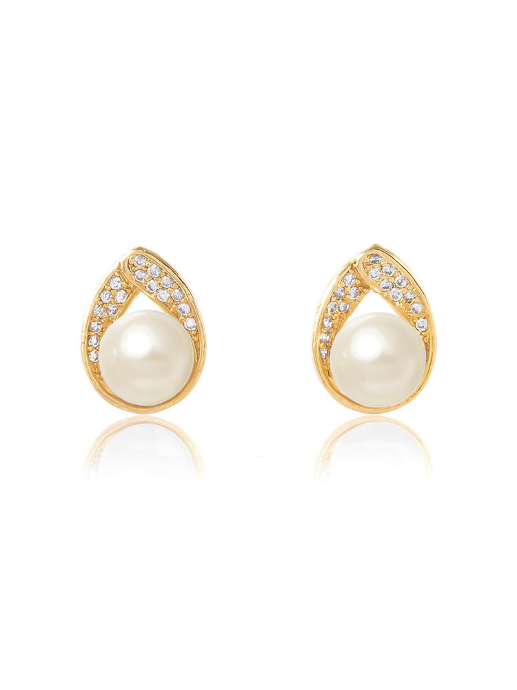 Load image into Gallery viewer, Astra Gold Earrings | Stud