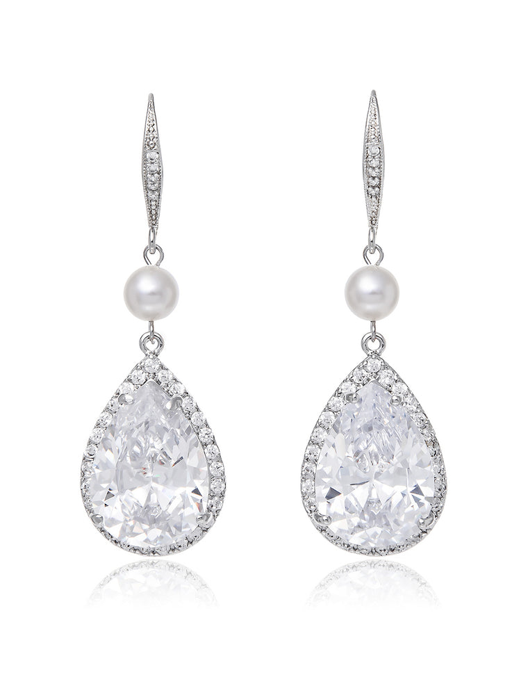 Vesta Pearl Earrings