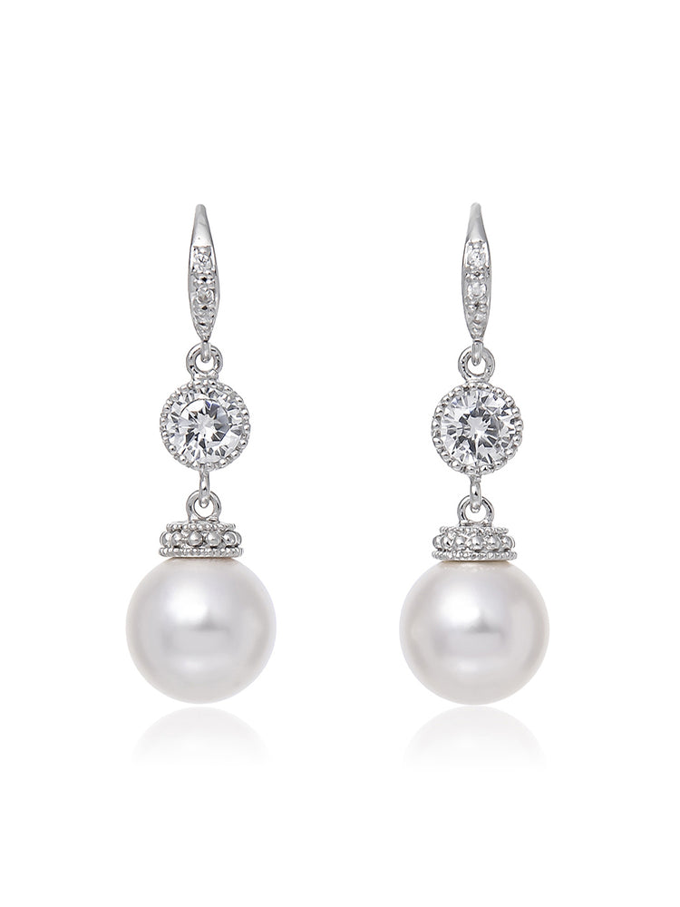 Classic Pearl Earrings | Medium