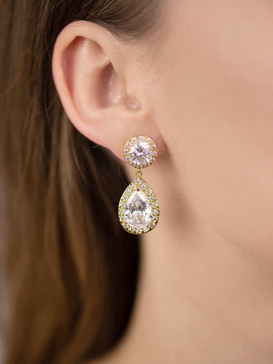 Load image into Gallery viewer, Diana Gold Earrings