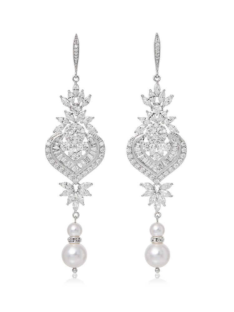 Melinda Pearl Earrings