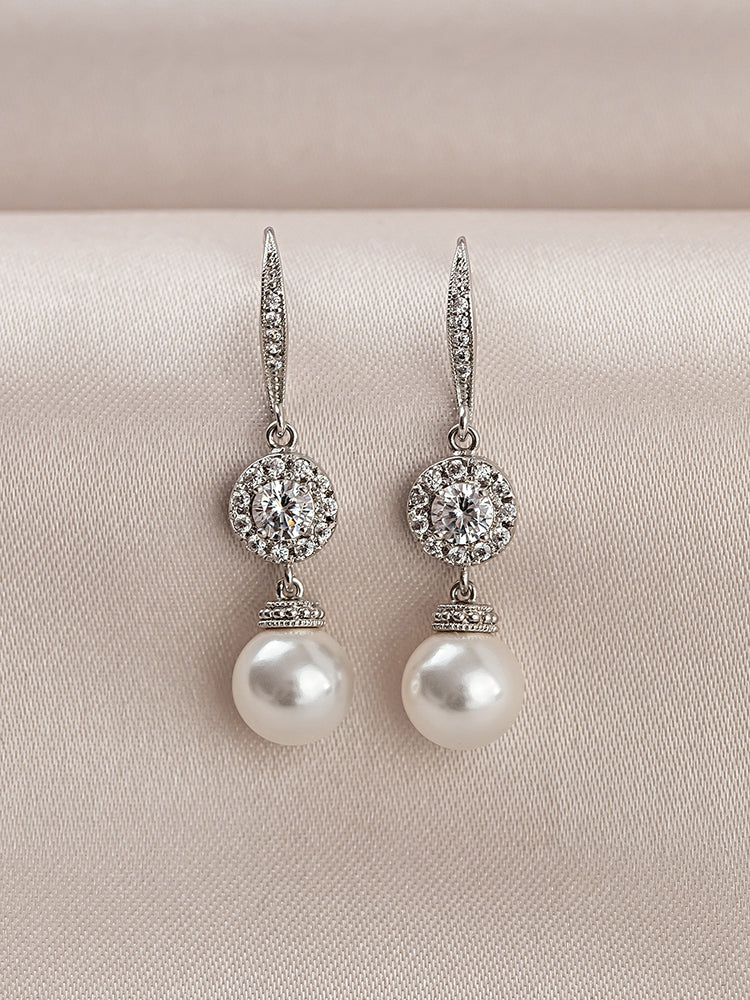 Camille Pearl Earrings