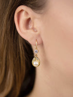 Astra Gold Earrings | Medium