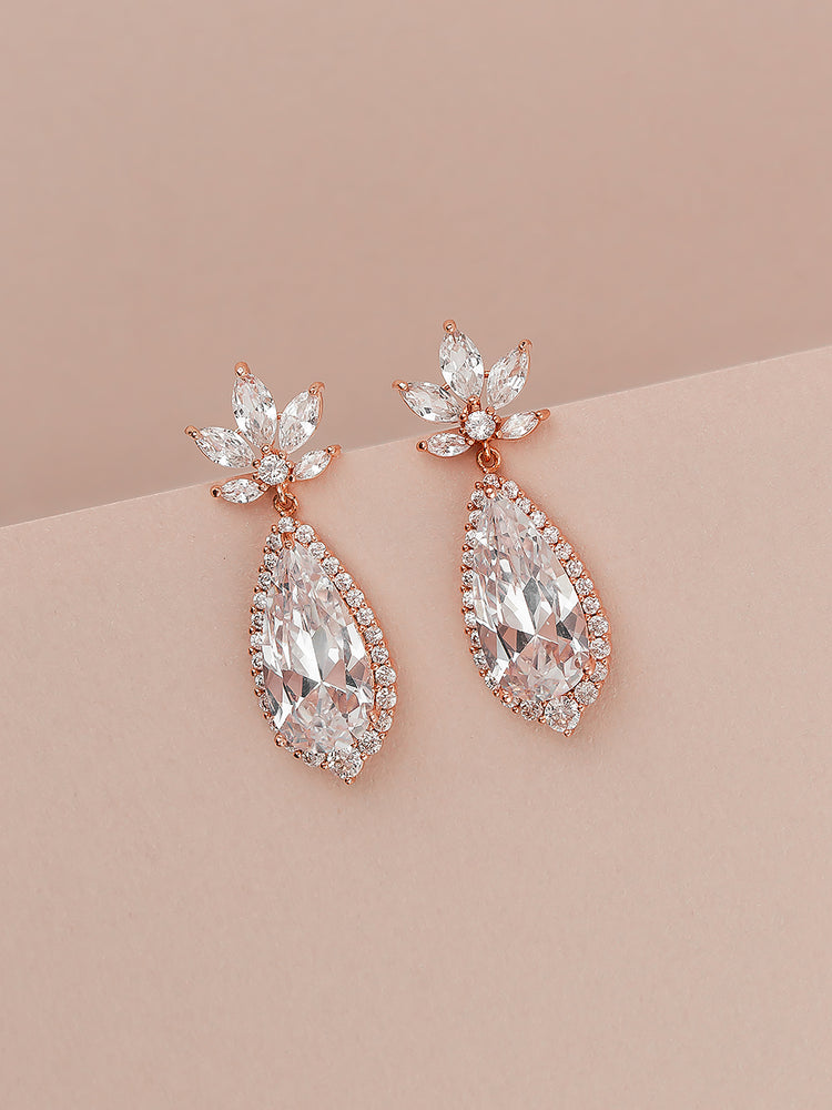 Rosalia Rose Gold Earrings